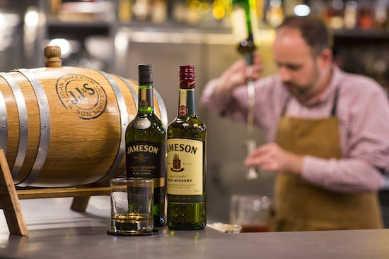 JAMESON IRISH WHISKEY LAUNCHES BARREL AGED COCKTAIL PROGRAMME FOR BARTENDERS