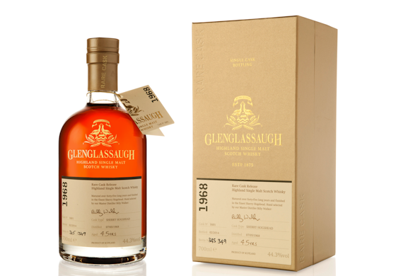 Glenglassaugh / Rare Cask Batch 1 / Cask # 1601