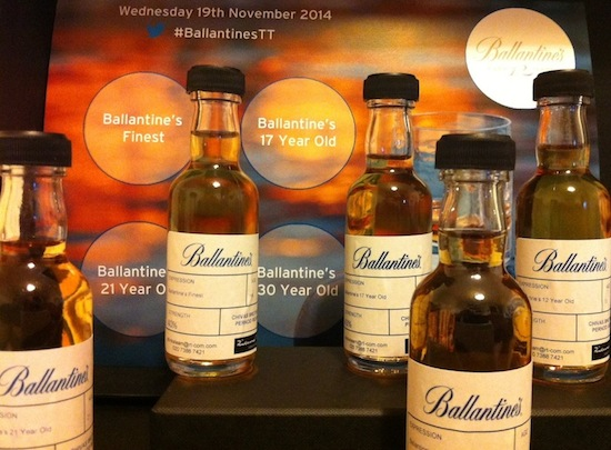 Stay True To Ballantine's Whisky Range