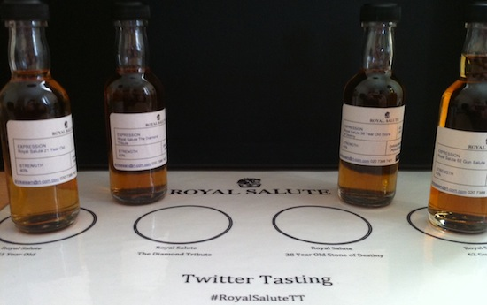 The Royal Salute Range Sampled