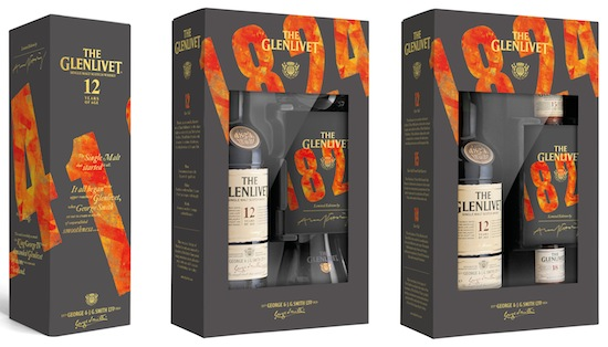 The Glenlivet 12YO Limited Edition Range