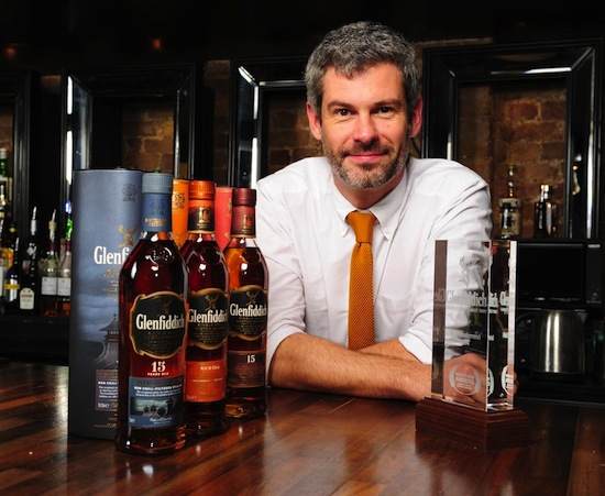 Glenfiddichs new UK Brand Ambassador, Mark Thomson