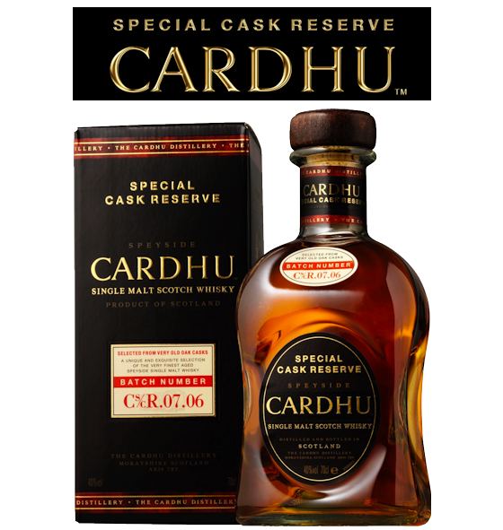 Cardhu / Special Cask Reserve Now Available From Edencrofts!