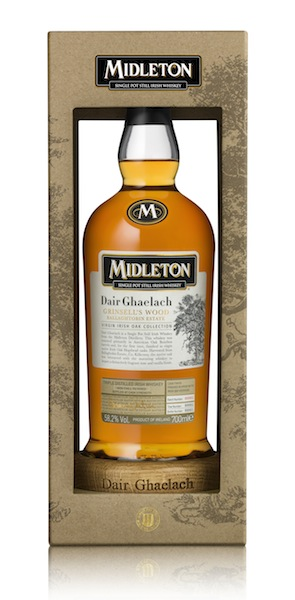 Midleton Celebrates Their First-Ever Virgin Irish Oak Finished Whiskey!