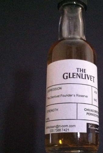 Sampling The Glenlivet Founders Reserve – A Towering Reputation!