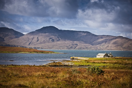 Jura is an island nestled off the West Coast of Scotland