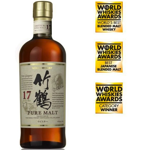 Nikka Whisky / Taketsuru / 17 Year Old Vatted Malt