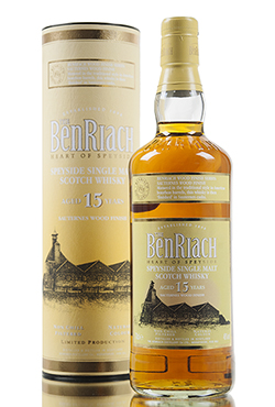 BenRiach 15 Year Old / Sauternes Wood Finish
