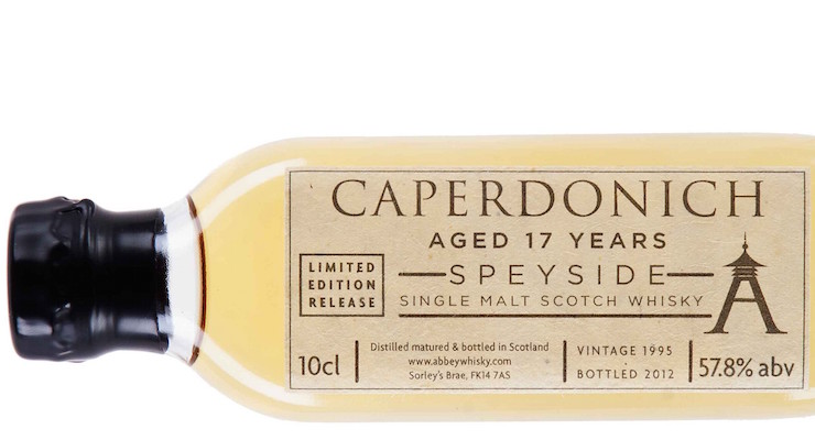 Caperdonich 17 Year Old - The Rare Casks / 10cl Sample £ 12.54