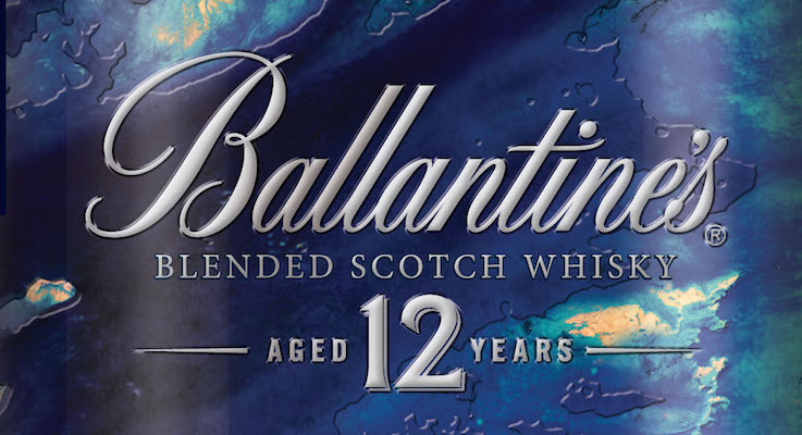 Ballantine's 12 Tin - Artist Series