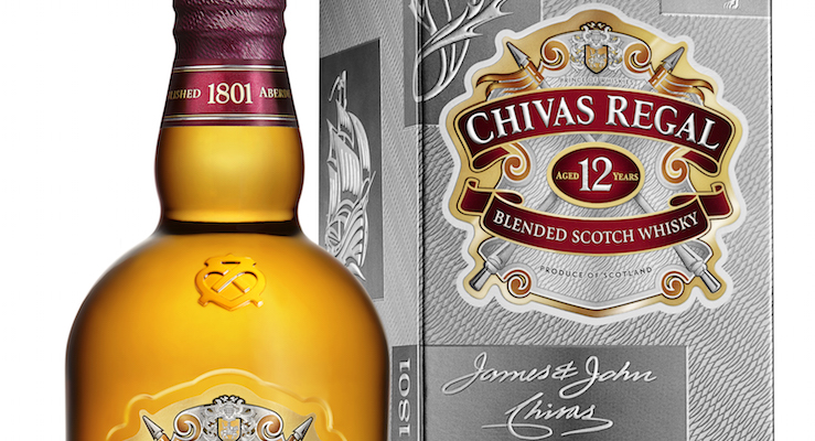 CHIVAS REGAL 12 YEAR OLD HIGHLIGHTS ITS POSITION AS A CONTEMPORARY ICON WITH NEW PACKAGING