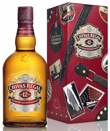 Chivas Bottle Tin