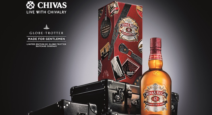 Chivas Globe-Trotter Made for Gentlemen