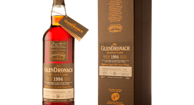 Glendronach / 20 Year Old Px Sherry Puncheon Cask #3398 £ 119.99