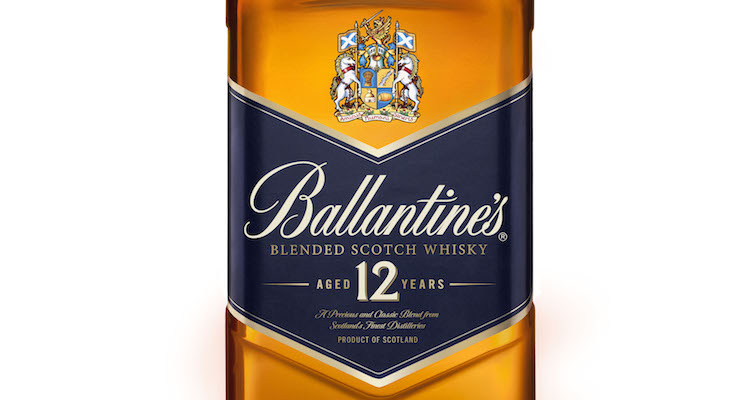 Ballantine's Unveils New Bottle For Its 12 Year Old Expression!