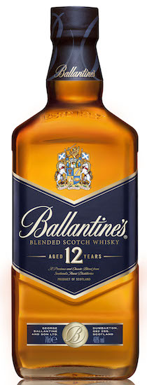 Ballantine's 12 Year Old New Packaging