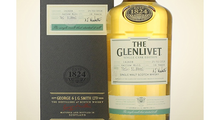 Glenlivet / 16 Year Old Gallow Hill Single Cask £ 175.00