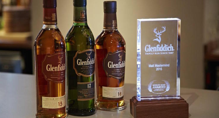 Glenfiddich Malt Mastermind Competition, held at Voltaire bar, London.
