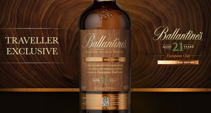 Ballantine's 21 Year Old Signature Oak