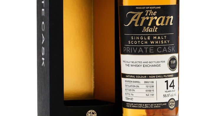 ARRAN 2000  Private Cask #1106 TWE Exclusive