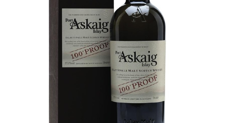 PORT ASKAIG 100° PROOF