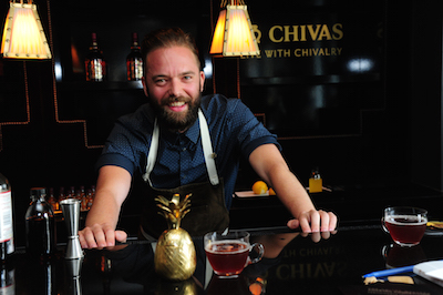This year's Chivas Master - Josh Reynolds from Hawksmoor Spitalfields
