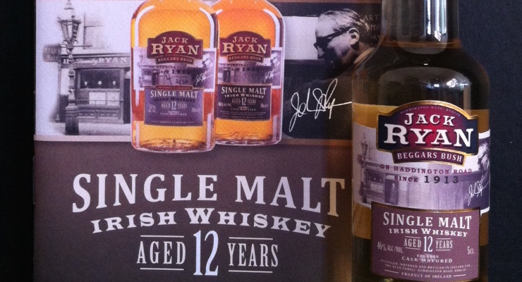Jack Ryan Beggars Bush Whiskey 12 Year Old
