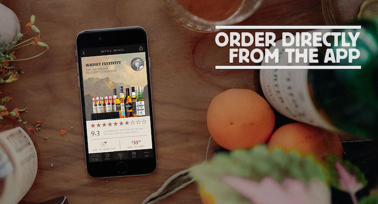 Order directly from the App!