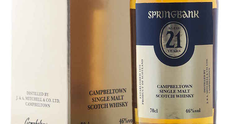 Springbank 21 Year Old / 2015 Release £ 198.00