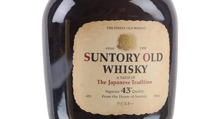 Suntory Old Whisky - The Japanese Tradition £ 89.88