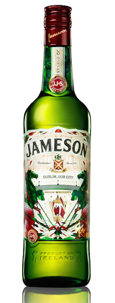 The bottle is designed to mark Jameson's #BeOriginal celebrations