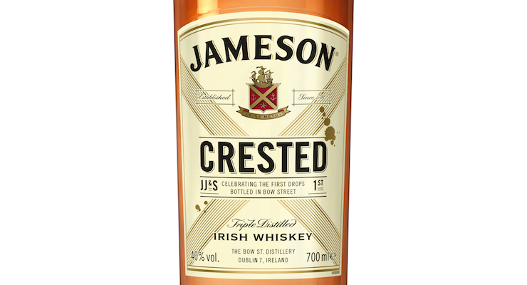 Jameson Celebrates it's Rich Heritage With The Launch of Jameson Crested