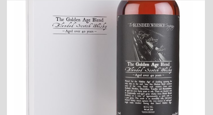 The Golden Age Blend - Just 210 bottles are available worldwide