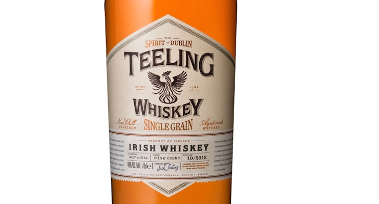 Teeling / Single Grain Irish Whiskey £ 36.25