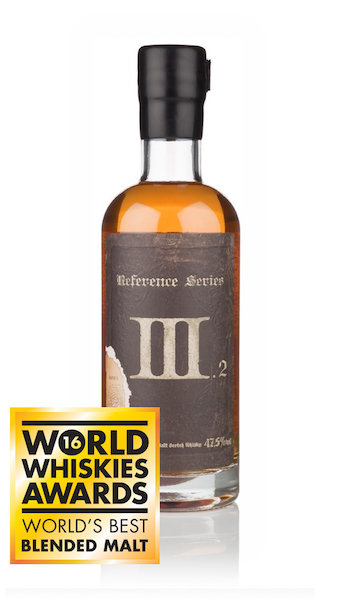 The World's Best Blended Malt at the World Whiskies Awards 2016!