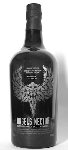 Like the First Edition, the Rich Peat Edition bottle features an Angel shaped fractal design