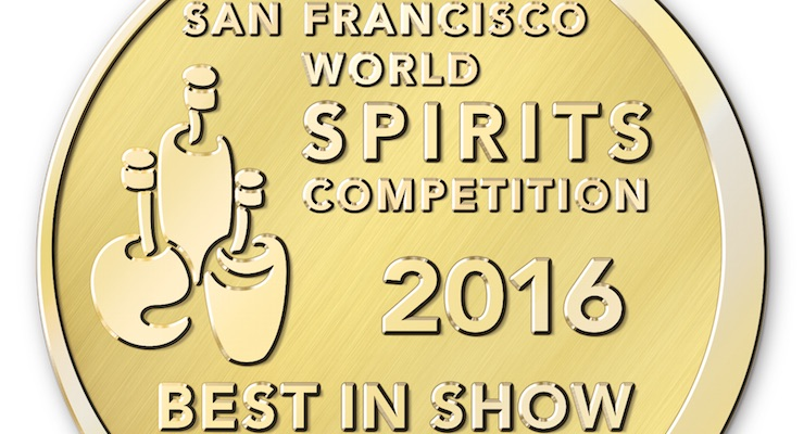 San Francisco World Spirits Competition Medallion