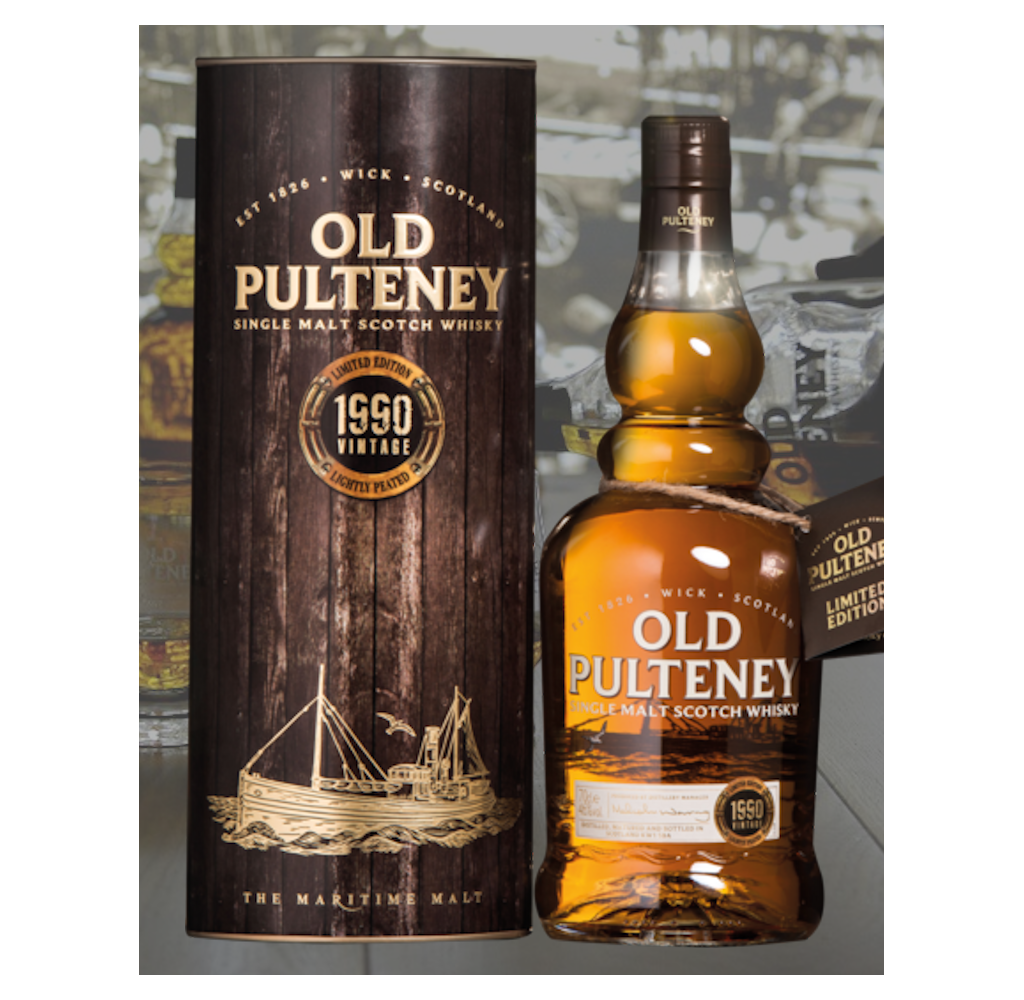 Old Pulteney / 1990 Vintage Single Malt £ 120.00