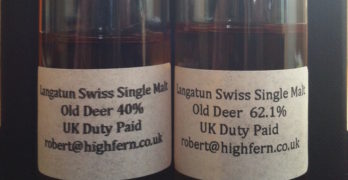 Sampling Langatun Swiss Malt Whisky: Flavours That Widened My Smile To Maximum!
