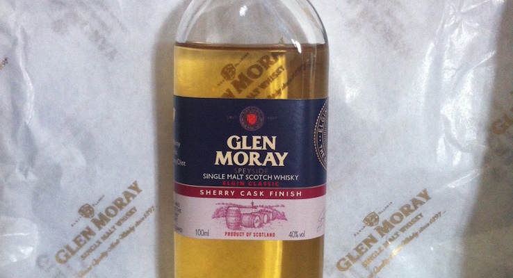 The new Sherry Cask Finish expression joins the Glen Moray Classic Collection