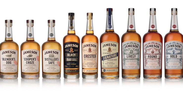 Jameson Family Line Up