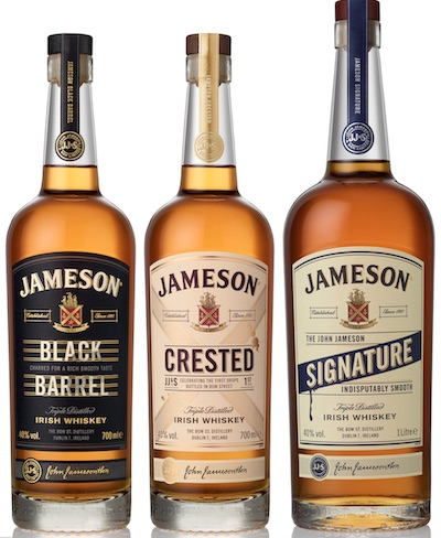 The range of Heritage whiskeys