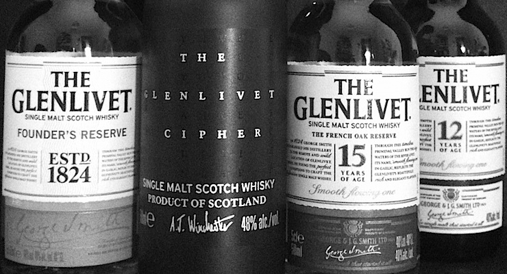 The Glenlivet Cipher Line-Up!