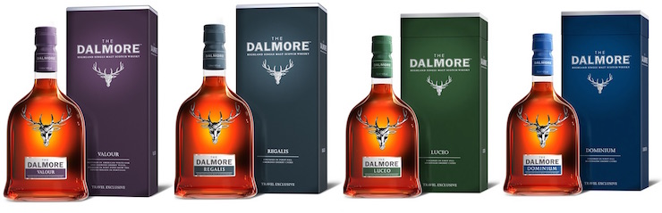 The Dalmore Fortuna Meritas Collection
