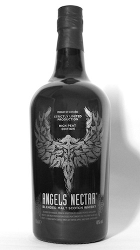 The Rich Peat Edition of Angels' Nectar Blended Malt Scotch Whisky