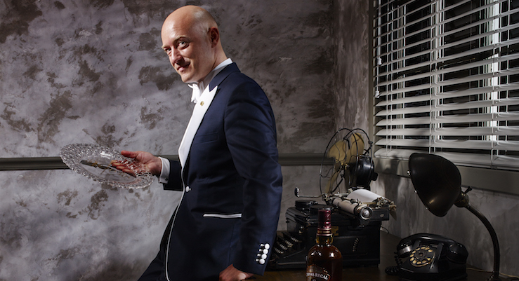Best International Brand Ambassador - Chivas Regal's Max Warner [photo credit - Doron Gild]