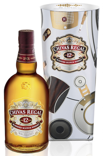 Chivas Regal 12 and Generosity: Amplified limited edition gift tin
