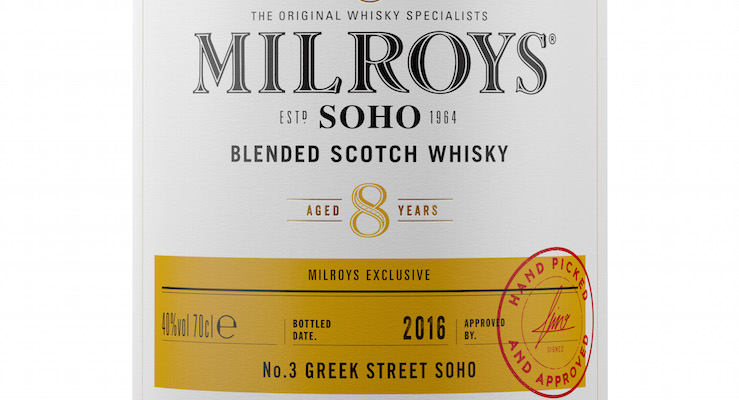 Milroys of Soho launches new brand and four exclusive whiskies under its own label