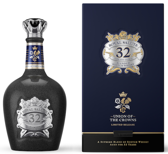Royal Salute 32 Year Old Union of the Crowns will be available from September 2016