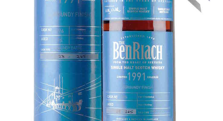 BenRiach 24 Year Old - 1991 / Single Cask 6896 Batch 13 £146.88